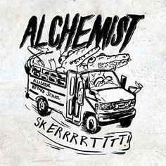 The Alchemist - Retarded Alligator Beats (2015) [Deluxe] [Original Album]