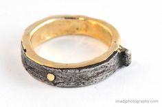"""""""Convict Nai""""l Gold Ring"""
