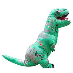 Role Play and Cosplay Spooktacular Creations T-Rex Deluxe Kids Dinosaur Costume for Halloween Child Dinosaur Dress Up Party