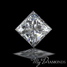 GIA Princess Shaped 5 Carat Diamonds J Color SI1 Certified Loose Real For Ring #MyDiamonds