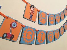 Items similar to Rusty Rivets Birthday Banner/Rusty Rivets Birthday Party/Rusty Rivets Party Decor/Rusty Rivets Cupcake Toppers on Etsy Dinosaur Birthday Party, 4th Birthday Parties, Happy Birthday Banners, Diy Birthday, Birthday Board, Birthday Ideas, Birthday Gifts For Bestfriends, Diy Party Hats, Paw Patrol Birthday