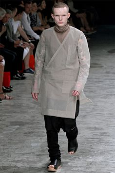 Rick Owens - Spring Summer 2013 - Men Fashion Shows - Vogue.it
