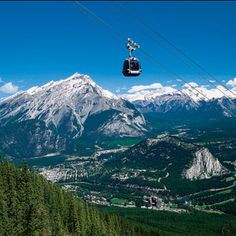 Banff National Park Gondola Alberta