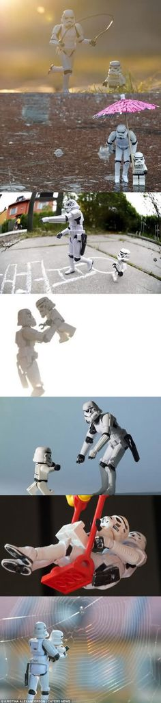 Stormtrooper father & son