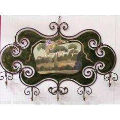 cm 100 x 740 Coat Hanger, Wrought Iron, Landscape, Ebay, Php, Instagram, Home Decor, Coat Racks, Scenery