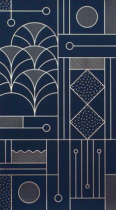 Line art design, geometric pattern design, geometry pattern, pattern print, Line Art Design, Design Web, Art Deco Design, Shape Design, Texture Design, Book Design, Art Designs, Motif Art Deco, Art Deco Pattern