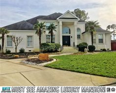 See More OfThis Impressive Property!  Property Description  Welcome to your Oasis as Palm trees line the front of your home! Custom built home by Charlie Anderson. This fabulous home is meant for entertaining! Whether it is by the pool on your private dock on your wave runners or boat or around your fire pit your family and guests will be constantly entertained. Head inside to a sprawling kitchen with open floor plan which includes: granite counters high end appliances wine cooler custom…