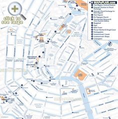 Walking tour itinerary Explore interesting sites buildings canals flower markets Amsterdam top tourist attractions map