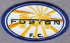 Miami Fusion FC USA Major League Soccer MLS Football Soccer Badge Patch - http://sewingpins.net/sewing/notions/miami-fusion-fc-usa-major-league-soccer-mls-football-soccer-badge-patch/