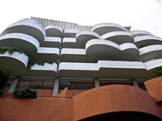 IT, Roma, Palazzina San Maurizio. Architect Luigi Moretti, 1959.
