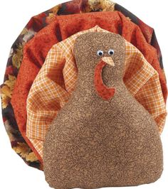 Turkey Craft Ideas | Create an easy turkey project with fabric and DIY ideas from @joannstores