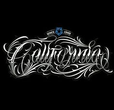 Chicano Lettering Plus Gothic Lettering, Chicano Lettering, Tattoo Lettering Fonts, Font Art, Typography Letters, Hand Lettering, Tattoo Alphabet, Gothic Alphabet, Letras Tattoo