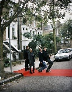 DDArgentina: Red Carpet Crossing. Silly Boys: LeBon and Taylor