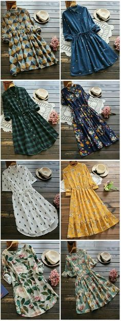 New Dress Long Winter Casual Outfit Ideas Trendy Dresses, Cute Dresses, Vintage Dresses, Fashion Dresses, Dresses With Sleeves, Flower Dresses, Sexy Dresses, Party Dresses, Fashion Clothes