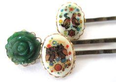 Cute bobby pins