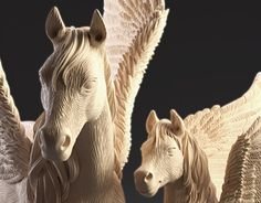 "Check out new work on my @Behance portfolio: ""Pegasus with Foal"" http://be.net/gallery/52836797/Pegasus-with-Foal"