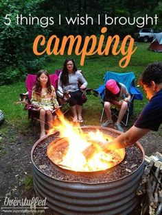 5 Things I Wish I'd Brought Camping