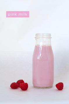 Kitchen projects to do with kids: Make homemade pink milk | Classic Play
