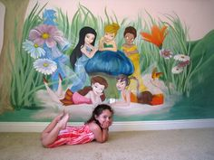 tinker bell room ides | Tinker Bell Mural in girl room. ... | Ideas for Katies room