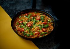 Chana Masala, Salsa, Ethnic Recipes, Food, Red Peppers, Essen, Salsa Music, Meals, Yemek