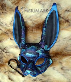Stylo 3d, Kitsune Mask, Bunny Mask, Japanese Mask, Leather Mask, Venetian Masks, Animal Masks, Masks Art, Beautiful Mask