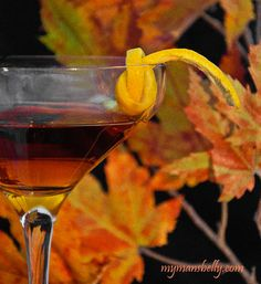 Fall Twist on the Traditional Manhattan Cocktail – The Maple Manhattan