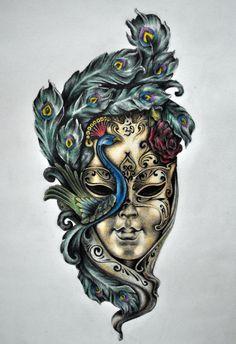 flower masks - Google Search