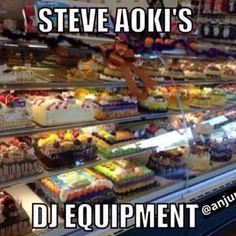 We promise we aren't haters but this does look about right. Steve Aoki is the true Cake Boss.  http://mywaydj.com  #djlife #DJ #DJBooth #music #turntables #CDJ #MyWayDJ #DJLifestyle #Instagood #Igers #instamood #turntablism #mixing #mix #djmix #audio #marketing #publicity #mixes #djmixes #djs #djing #radio #club #crowdcontrol #djmusic #aoki #hilarious #songs #steveaoki by mywaydj