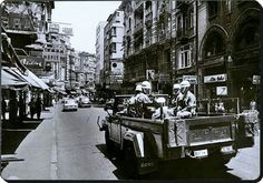 Istiklal caddesi 1970 ler.