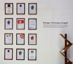 Neulich auf der Möbel Austria 2017 - Diverse von #christiankroepfl bzw, #kroepfl für #palatti gewonnene #Design #Awards ! Exhibitions, Gallery Wall, Christian, Frame, Instagram Posts, Design, Home Decor, Picture Frame, Decoration Home