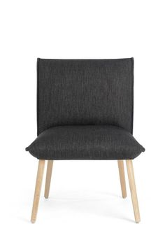 SOFT UNI H40 -A chair by Mobitec. This low chair is perfect for a lounge area and very comfortable.