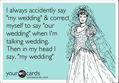 #wedding humor  Chris' contribution to this board