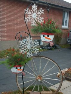 New uses for old bicycles