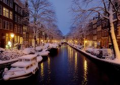 Winter Holiday Season in Amsterdam. Definitely taking at least a day trip up there this year :)