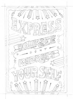 Express yourself don't repress yourself by Maria Bruggeman - Skillshare