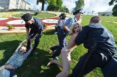 Femen against prostitution
