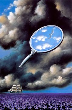 """In front of a painting, as in front of a beautiful woman, one must revel in wonder"" - Rafal Olbinski. Art Photography, Surrealist, Surreal Art, Fantasy Art, Rafal, Surreal Artwork, Surrealism, Visual Art, Beautiful Art"