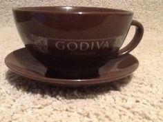 California Pantry 2014 Godiva Chocolatier Cream Colored 16 Oz Mug ...
