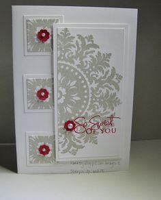 Medallion - SU / as a Christmas | http://cutegreetingcards.blogspot.com