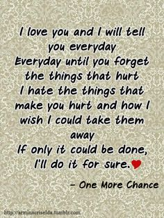 one more chance quotes tumblr | One more chance quote. :) Si Maja nagsabi nito db? - Strawberry Coated ...