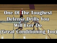 One Of The Toughest Defense Drills You Will Ever Do (Great Conditioning Too) - Man In The Hole - YouTube