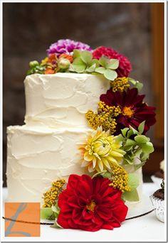 Beautiful Rustic Cake