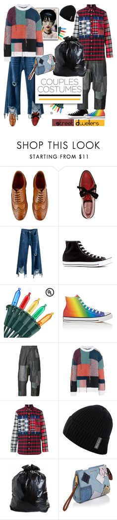 """""""Street Chic"""" by streetglamour on Polyvore featuring Grenson, Marc by Marc Jacobs, Converse, Mostly Heard Rarely Seen, STELLA McCARTNEY, Tommy Hilfiger, Marc Jacobs and couplescostumes"""