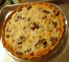 Προαιρετικά βάλτε 2 κ.σ. ελαιόλαδο και 1 κ.σ. βούτυρο φρέσκο και πασπαλίστε με άλλη 1 κ.σ. βούτυρο πάνω από τα τυριά, πριν τη βάλετε στο φούρνο, για Mashed Potatoes, Stuffed Mushrooms, Pie, Ethnic Recipes, Desserts, Food, Greek, Kitchen, Whipped Potatoes