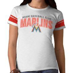 Miami Marlins '47 Women's Gametime T-Shirt - White - $29.99