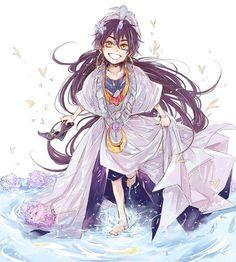 Sinbad - MAGI: The Labyrinth of Magic - Image - Zerochan Anime Image Board Sinbad Magi, Magi Magi, Magi Adventures Of Sinbad, Magi Kingdom Of Magic, Aladdin Magi, Art Magique, Anime Magi, Castle In The Sky, Anime Version