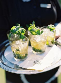 38 Signature Drinks That'll Personalize Your Cocktail Hour Wedding Signature Drinks, Signature Cocktail, Mini Candy Canes, Gin Fizz, Party Treats, Bar Drinks, Clean Eating Snacks, Cocktails, Appetizers