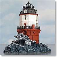 Baltimore Lighthouse Maryland, completed 1908--saw from distance