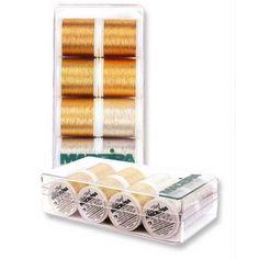 Boîte de fils Heavy Métal MAdeira 15.90€ (1.98€ pce)