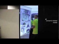 De interactieve paskamer van Adidas (Evány Lumulhila)